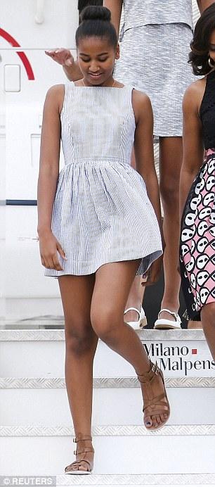 Sasha Obama 2016-21