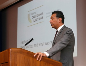 Alex Padilla said at least 2 million votes cast in California's presidential primary election have yet to be counted