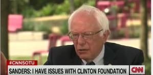 Bernie Sanders Clinton Foundation