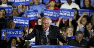 Bernie shake it up