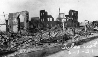 Burning of black wall street 5