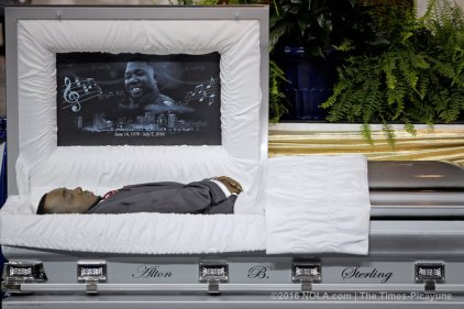 Alton Sterling Funeral 18