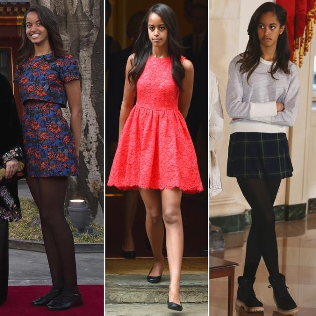 Malia Obama 2016-19