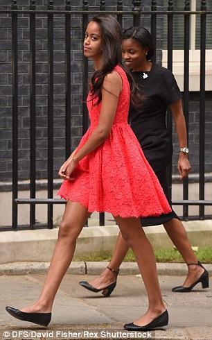 Malia Obama 2016-7