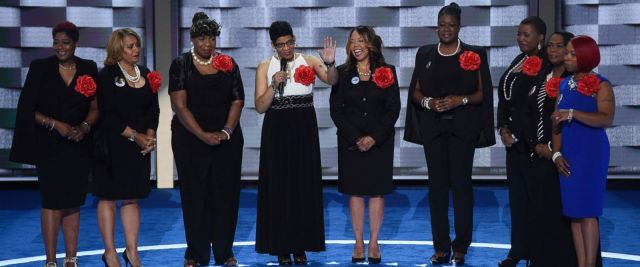Mothers of the Movement DNC 2016