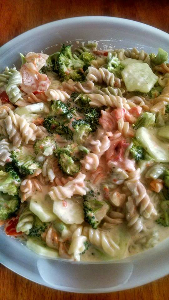 Pasta July 4th