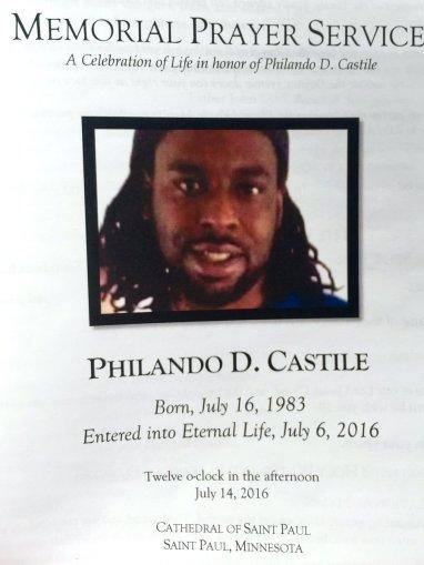Philando Castile Funeral 6
