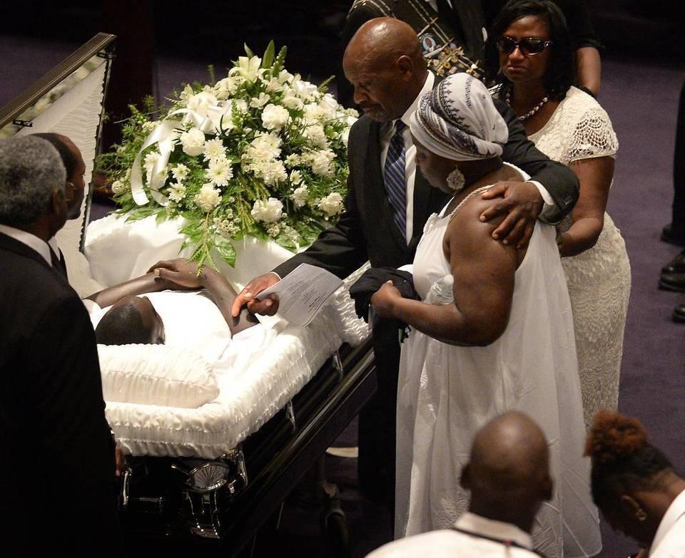 Keith Lamont Scott Funeral Photos