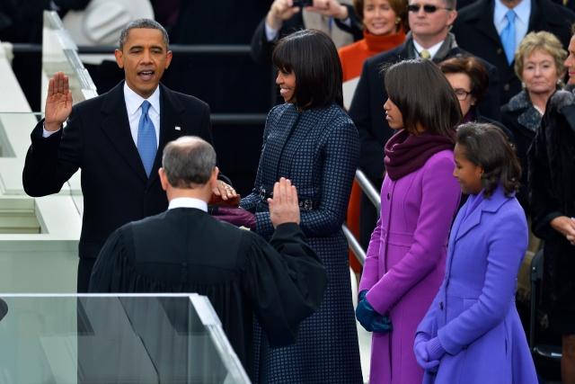 57th Inauguration President Barack Obama
