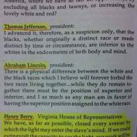 #BlackHistory:  Benjamin Franklin, Thomas Jefferson, Abraham Lincoln & Henry Berry's views on Black People