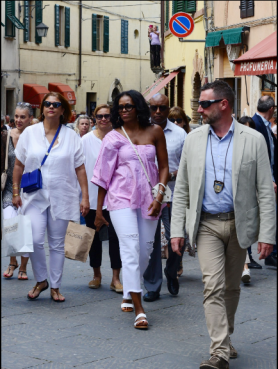 Michelle exploring Italy 2