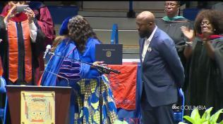 Trayvon Martin awarded degree 5