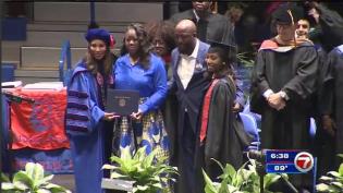 Trayvon Martin awarded degree