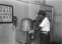 From 1867 to 1965, Jim Crow laws were enacted throughout the south that kept blacks and whites segregated: schools, water fountains, restaurants, buses, and even bathrooms were to be used by either whites or blacks only.