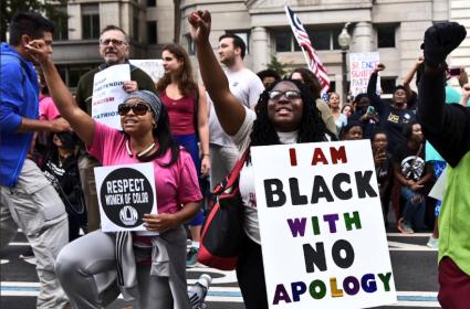 Black Women March 13