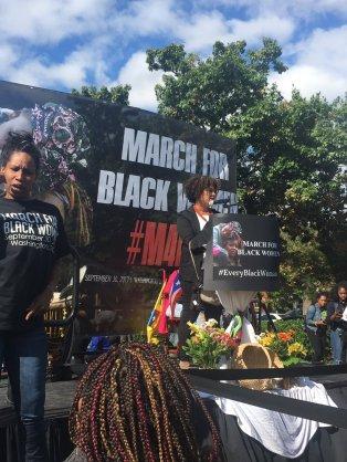 Black Women March 19