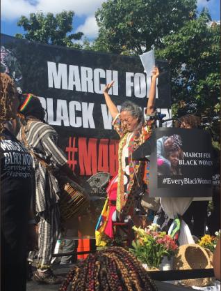 Black Women March 20