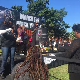 Black Women March 22