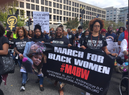 Black Women March 6