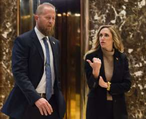 Trump's daughter-in-law Lara Trump, who is married to Eric Trump, was hired in March 2017 as a liaison for for Parscale's firm, which is based in San Antonio.