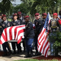 U.S. Army Sgt. La David Johnson Funeral Service