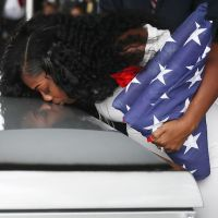 Gold Star widow Myeshia Johnson has 'nothing to say' to Trump