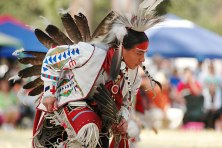 Native American Pow Wow dance