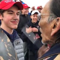 The MAGA Hat–Wearing Teens Who Taunted A Native American Elder Could Be Expelled