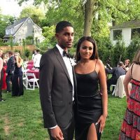 Sasha Obama goes to the prom