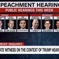 WATCH LIVE: Donald Trump Impeachment Hearings Day 3